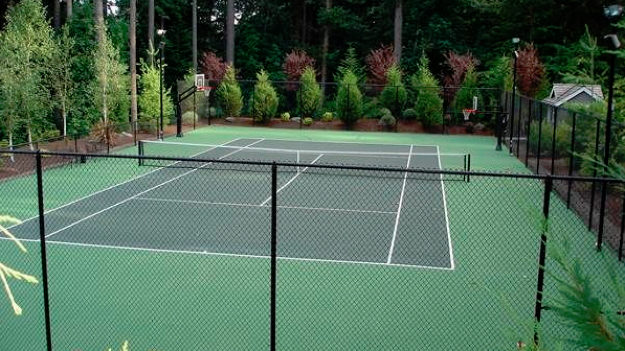 Get a Tennis court resurfacing For Your Home